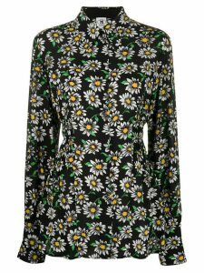 M Missoni daisy print fitted blouse - Black