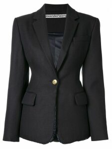 Alexander Wang structured oversized blazer - Blue