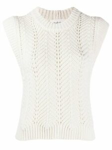Ba & Sh knitted tank top - NEUTRALS