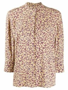 Ba & Sh Catty abstract-print shirt - NEUTRALS