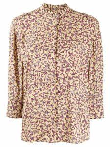 Ba & Sh Catty abstract-print shirt - NEUTRALS