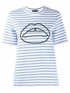 Markus Lupfer Ivy Ponte Stripe T-shirt - Blue