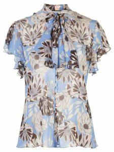 Alexis Dessie floral print blouse - Blue