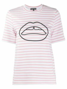 Markus Lupfer Ivy Ponte Stripe T-shirt - White