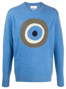 LERET LERET No. 5 Eye knit jumper - Blue