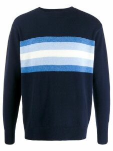 LERET LERET No. 7 striped cashmere jumper - Blue