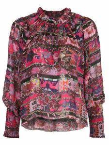 Chufy Cusco floral patterned shirt - PINK