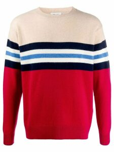 LERET LERET No. 10 striped cashmere jumper - Red