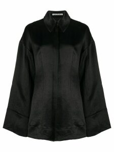 Acne Studios oversized button up shirt - Black