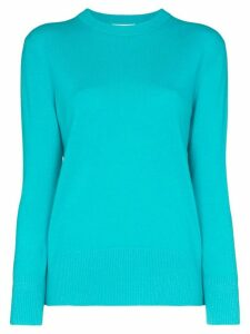Ply-Knits cashmere sweater - Blue