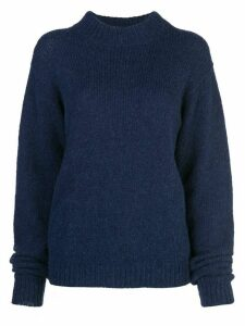 Tibi cozette oversized jumper - Blue