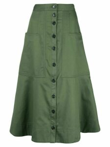 Tibi Harrison skirt - Green