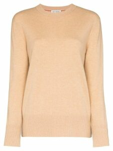 Ply-Knits round neck cashmere jumper - NEUTRALS