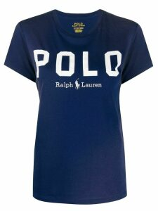 Polo Ralph Lauren logo print T-shirt - Blue