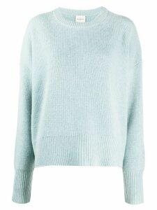 Le Kasha fine knit cashmere jumper - Blue