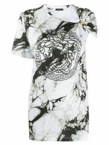 Versace Medusa marble effect T-shirt - Black