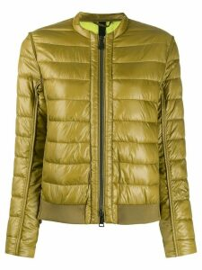 Luisa Cerano fitted padded jacket - Green