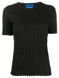 Simon Miller Osuna ribbed slim-fit T-shirt - Black