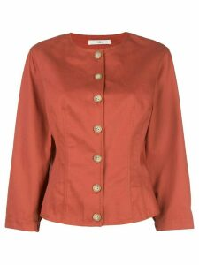Tibi Harrison blouse - Red