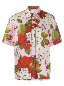 Dolce & Gabbana floral-print shirt - PINK