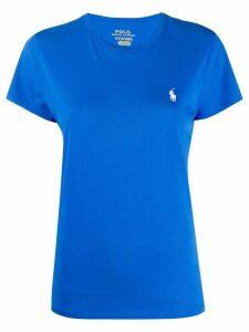 Polo Ralph Lauren logo embroidered T-shirt - Blue
