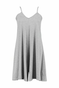 Womens Tall Swing Playsuit - grey - 14, Grey