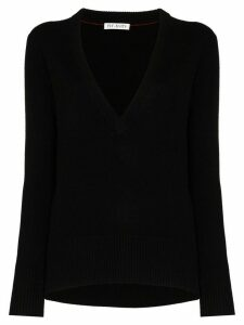 Ply-Knits V-neck cashmere sweater - Black