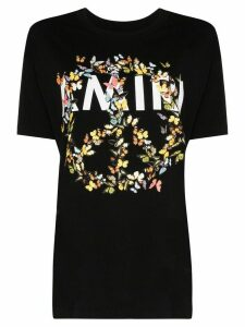 AMIRI butterfly peace symbol T-shirt - Black