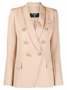Balmain double-breasted blazer - NEUTRALS