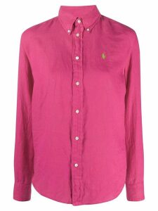 Polo Ralph Lauren button-down logo shirt - PINK