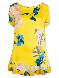 Antonio Marras floral print blouse - Yellow
