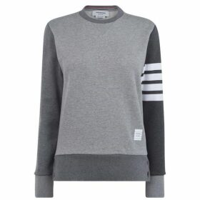 Thom Browne 4 Bar Mix Sweater