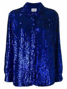 P.A.R.O.S.H. Gummy sequin shirt - Blue