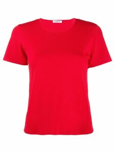 P.A.R.O.S.H. knitted seamless T-shirt - Red
