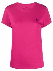 Polo Ralph Lauren crew-neck logo T-shirt - PINK