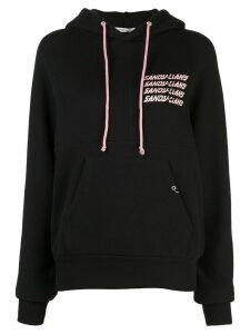 Sandy Liang Mouse logo hoodie - Black