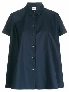 Aspesi plain poplin shirt - Blue