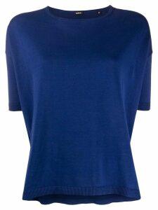 Aspesi Jersei round neck T-shirt - Blue