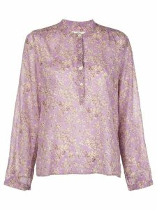 Isabel Marant Étoile Maria half-buttoned blouse - PURPLE