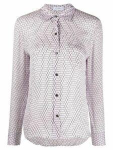 Equipment all-over pattern shirt - PURPLE