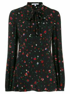 Derek Lam 10 Crosby floral print blouse - Black
