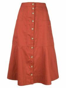 Tibi Harrison skirt - Red