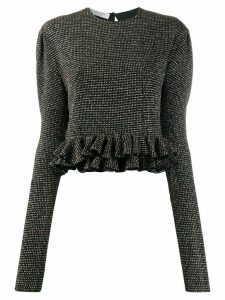 Philosophy Di Lorenzo Serafini metallic polka-dot jumper - Black