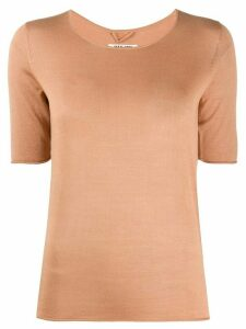 Max & Moi knitted T-shirt - NEUTRALS
