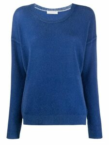 Majestic Filatures relaxed-fit cashmere jumper - Blue
