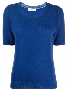 Majestic Filatures relaxed-fit cashmere top - Blue