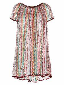 Missoni Mare embroidered stripe dress
