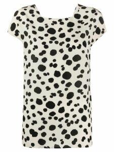 Aspesi dot print blouse - NEUTRALS