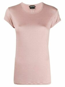 Tom Ford slim-fit logo T-shirt - PINK