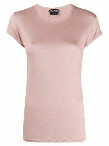 Tom Ford slim-fit logo T-shirt - PINK